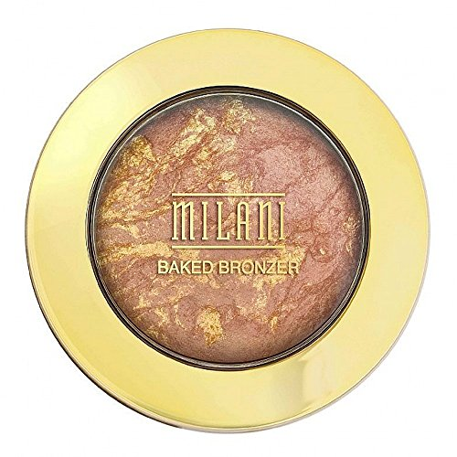Milani Baked Bronzer, Glow [04] 0.25 oz (Pack of 2)