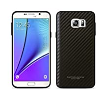 [Tridea] Anti-Shock Samsung Galaxy Note 5 Power Guard Case Premium Leather Style [Carbon Black] Bumper Case for Samsung Galaxy Note 5