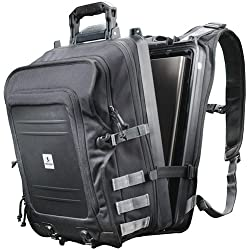 Pelican U100 Elite Backpack With Laptop Storage (Black)