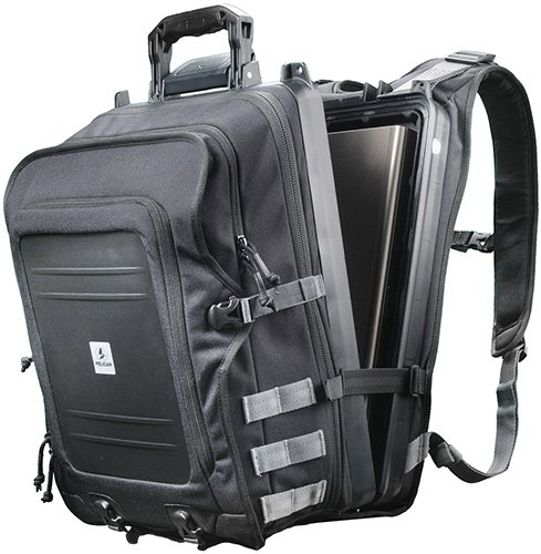 Pelican U100 Elite Backpack With Laptop Storage (Black) by Pelican