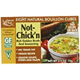 Edward & Sons Not Chick'n Bouillon Cubes 70 g Boxes (Pack of 12)