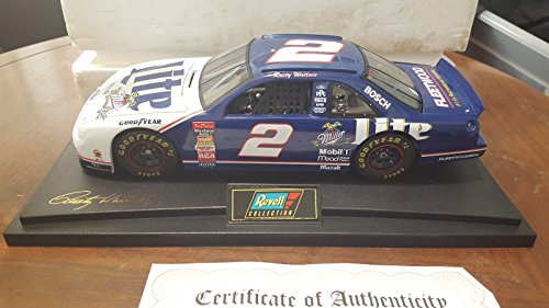 Rusty Wallace Racing Driver (1997 REVELL 1:18 Scale Rusty Wallace MILLER LITE Ford Thunderbird Diecast)