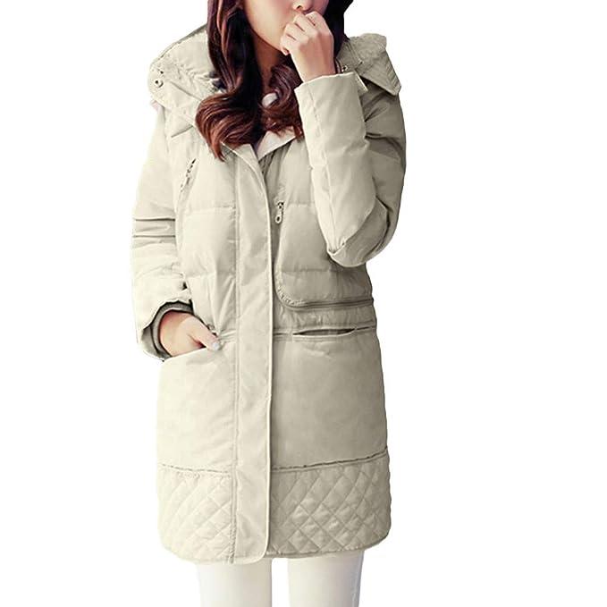 Linlink Ropa de Mujeres sintéticas Abrigo de Piel Elegante Grueso Capa de la Manera cálido Moda Abrigos de Piel Falsa Chaqueta Larga Outwear: Amazon.es: ...