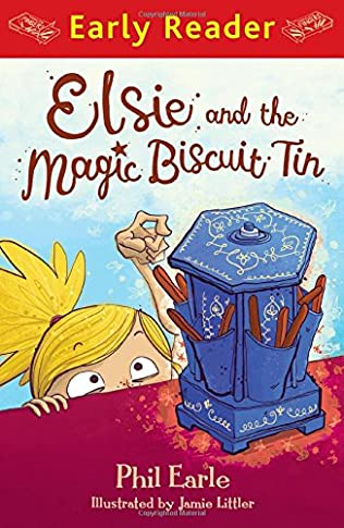 book cover of Elsie and the Magic Biscuit Tin