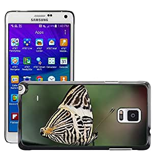 Hot Style Cell Phone PC Hard Case Cover // M00113442 Butterfly Insect Animal Cocoon Macro // Samsung Galaxy Note 4 IV