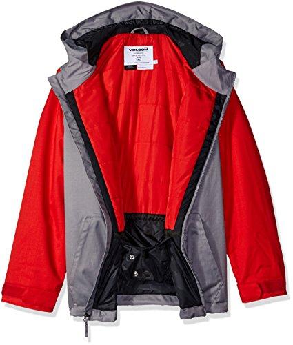 Volcom Big Boys' Selkirk Insulated Jacket, Grey, M by Volcom (Image #2)