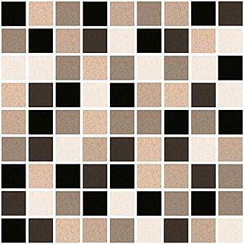 Amazonde X Fliesen Aufkleber Fliesen Folie Mosaic Mosaik - Fliesen 15 x 20 grau