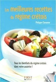 Les meilleures recettes du régime crétois par Philippe Chavanne