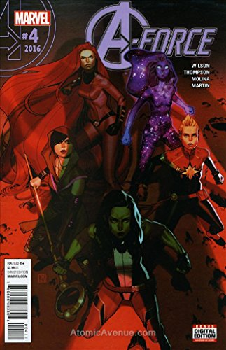 A-Force (2nd Series) #4 VF ; Marvel comic book