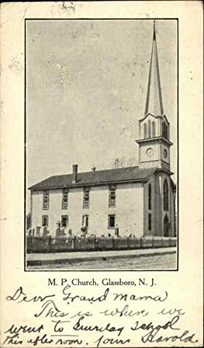 M. P. Church Glassboro, New Jersey Original Vintage Postcard