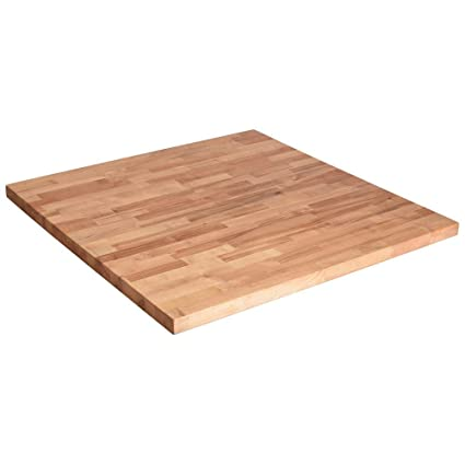 Awesome Butcher Block Countertop 36in.x 36in.x1.5in Wood In Unfinished Birch