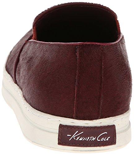Kenneth Cole New York Menns Dobbel Eller Ingenting Mote Sneaker Bordo Ponni