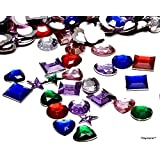 Playscene Craft Jewels With Adhesive Back, Pack of 500 1/2 Inch Jewels ! ! !