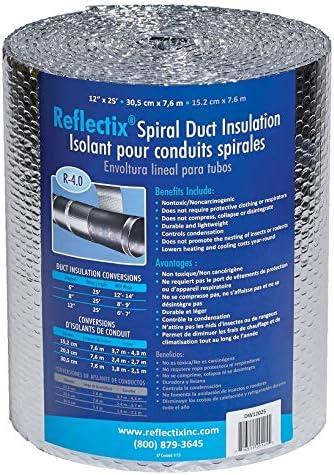 Reflectix DW1202504 Spiral Duct Wrap