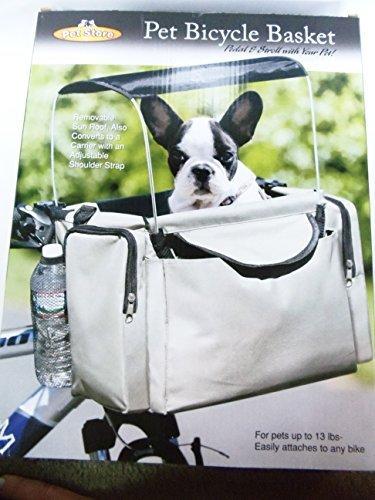 Pet Store Fahrradkorb und Tragetasche mit Sonnenschutz für Haustiere, bis 6kg