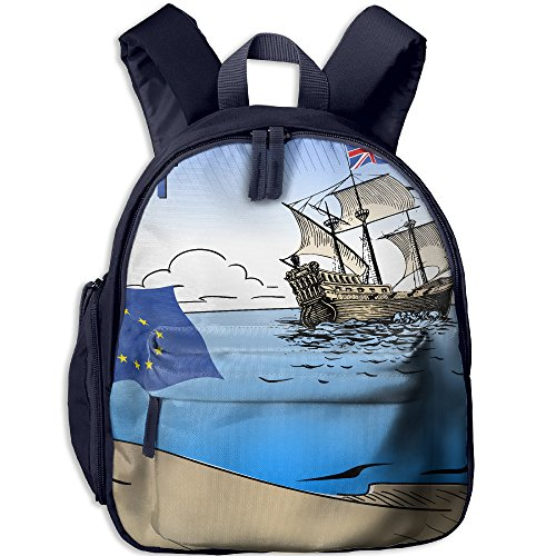Funny Sunshine Brexit Cool Children's Shoulder Bag School Bags