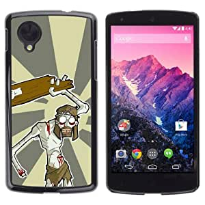 YOYOSHOP [Jesus Zombie] LG Google Nexus 5 Case by Maris's Diary