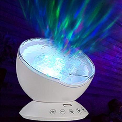Ocean Wave Starry Sky LED Proyector Aurora Noche Luz Nueva Lámpara ...