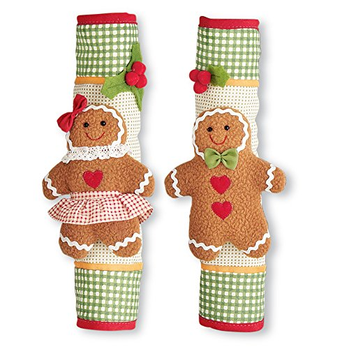 (Gingerbread Handle Covers - Set of)