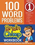 100 Word Problems: 1st Grade Workbook For Ages 6 - 7