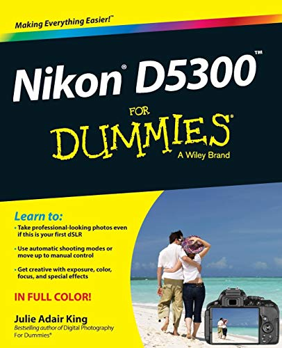 See the world differently through your new Nikon D5300 Your new Nikon D5300 digital SLR camera represents something about you. It shows that you want something more than a point-and-shoot camera has to offer. You want to take better photos. You want ...