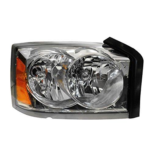 Headlight Headlamp Passenger Side Right RH for 05-07 Dodge Dakota Pickup Truck Dakota Passenger Side Headlamp