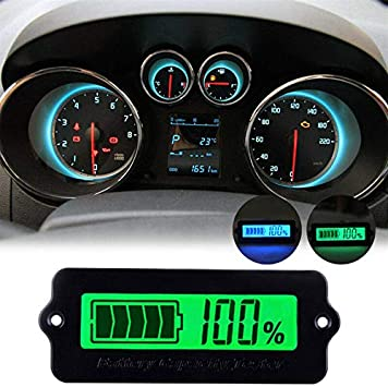 etc Electric Vehicles 3 Cell Lithium Battery 9.6-11.1V Battery Capacity Tester SUPERTOOL Battery Status Meter LY6W LCD Display Battery Charge Indicator for Power Bank