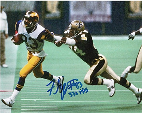 Autographed Flipper Anderson Photograph - 336 YARDS 8x10 - Autographed NFL ()