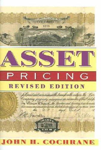 Asset Pricing ebook