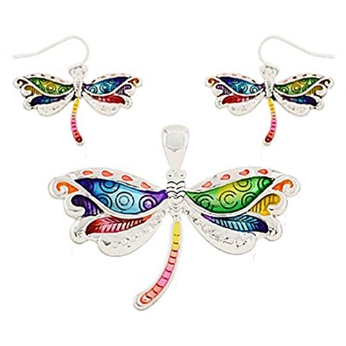 multi-color-dragonfly-pendent-with-earring-set-by-jewels-nine-by-serena