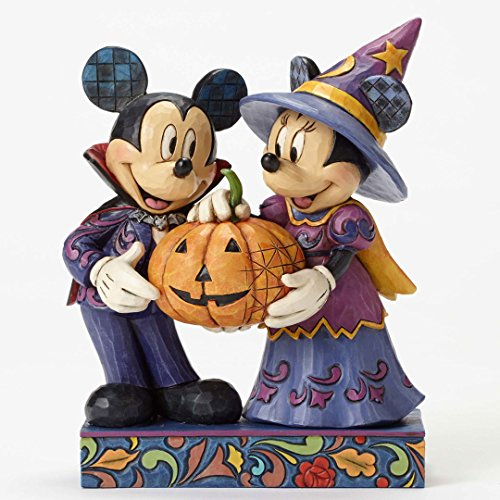 Jim Shore Mickey & Minnie Halloween (Minnie And Mickey Halloween)