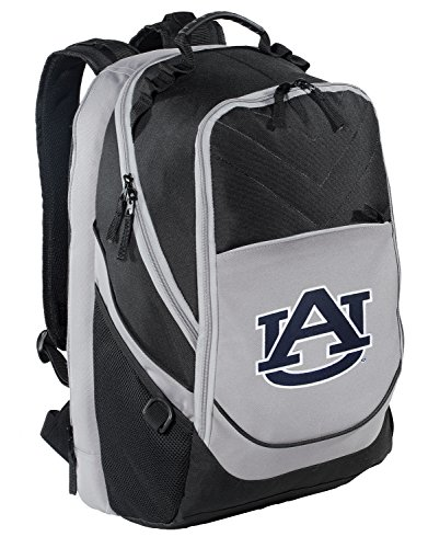 Auburn University Backpack Auburn Tigers Laptop Computer Bag by Broad Bay