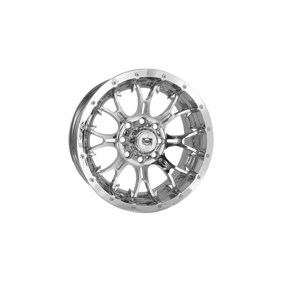 Douglas Wheel Diablo Wheel   14x8   3+5 Offset   4/110   Chrome , Bolt Pattern 4/110, Rim Offset 3+5, Wheel Rim Size 14x8, Color Chrome, Position Front/Rear 993 12C