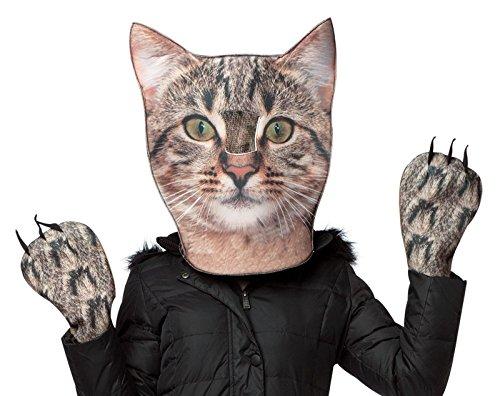 Kitty Accessory Kit (Rasta Imposta Women's Kitty Kit Head and Paws, Gray, One Size)