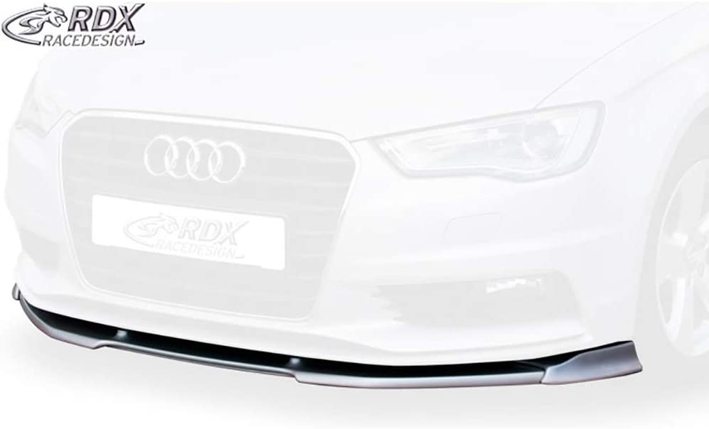 RDX Frontspoiler VARIO-X A3 8V 8VA Sportback 8V7 Cabrio Frontlippe Front Ansatz Vorne Spoilerlippe 8VS Limousine
