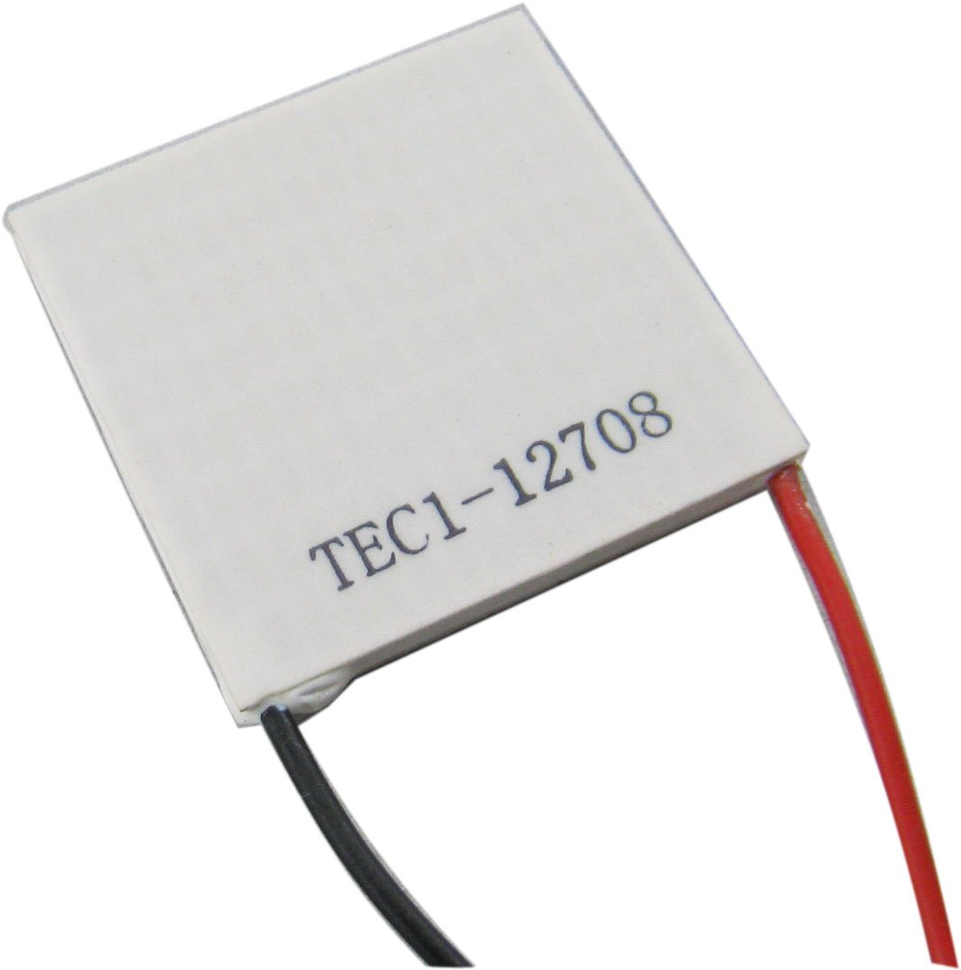 Yeeco 40mm40mm TEC1-12708 High Power TEC Thermoelectric Cooler Panel DC 12V 8A 96W Generator Cooling Peltier Plate Module Thermostat Cool Controller by Yeeco (Image #2)