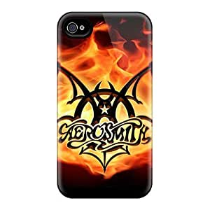 New Arrival Case Cover With Ihe647MpGk Design For Iphone 4/4s- Aerosmith Band