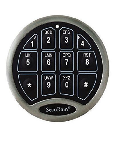 Securam Basic Electronic Keypad & Lock Kit