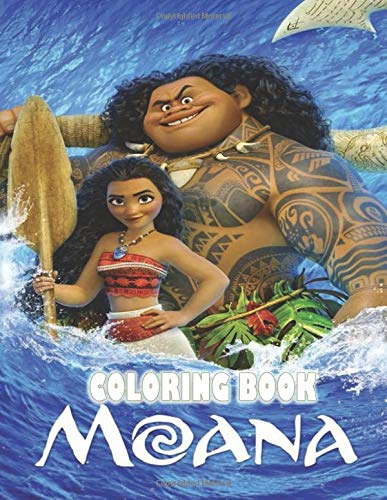 Moana Coloring Book Super Coloring Book For Kids And Fans Jady Mily 9798679052000 Amazon Com Books