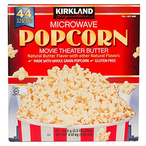 Kirkland Signature Expect More Microwave Popcorn 44 count (Popcorn Microwave Kirkland)
