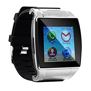 """Tera 1.54"""" TFT LCD UPRO2 Bluetooth Intelligent Watch Bracelet Wristband Pedometer Color Black for Steps Tracking Sleep Monitoring Phone Anti-lost Call Message Sync FM Support SIM and SD Card"""