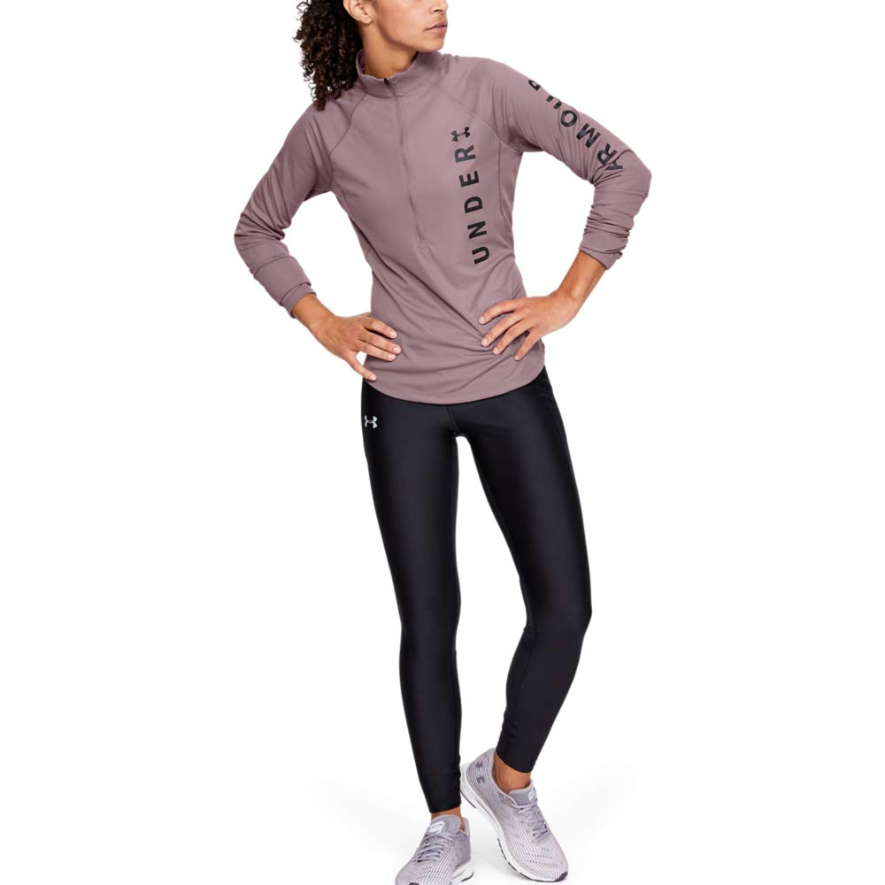 Under Armour Speed Stride Split Wordmark Half Zip Felpa Donna