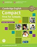 img - for Compact First for Schools Student's Book with Answers with CD-ROM book / textbook / text book