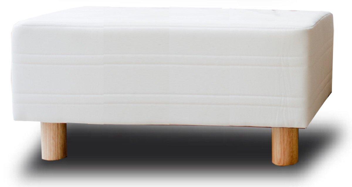 イーユニット ベッド屋さんが作った ベンチソファ スツール 日本製 (サイズ:SSS幅80cm カラー:生成) B00CR9VVHS SSS幅80cm|生成 生成 SSS幅80cm