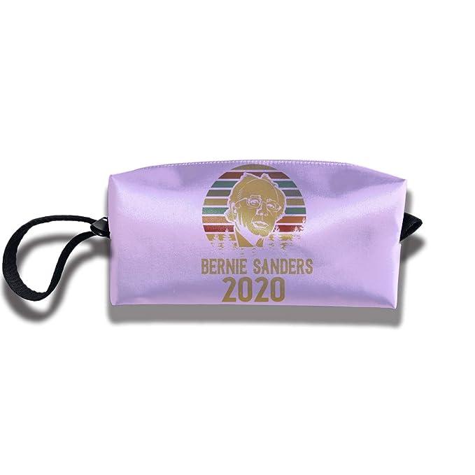 320d7a9c2db Amazon.com: Bernie Sanders 2020 Travel Makeup Bags Cosmetic Portable ...