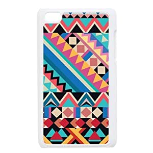 Aztec Andes Tribal Pattern Protective Hard PC Back Fits Cover Case for iPod Touch 4, 4G (4th Generation)