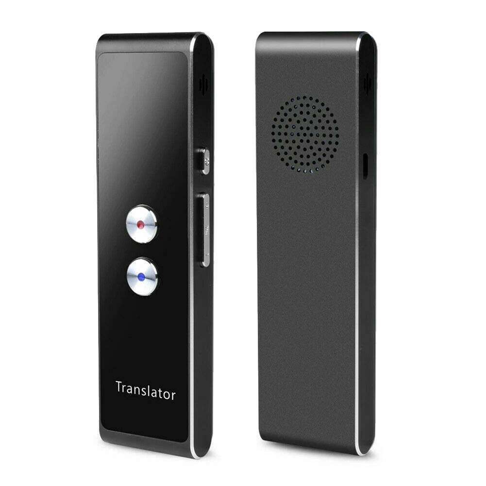 Translator, AMEOY Language Translator Instant Voice Real-Time Intelligent Translator Support 40 Languages TranslationPocket Device Travel Translation Tool for Travelling Learning Meeting by AMEOY