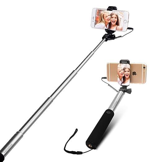 24 opinioni per Bastone Selfie [No Bluetooth] allungabile Yarrashop selfie Sticks con Vastsean