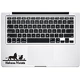 Lion King Trackpad Keyboard Macbook Decal Vinyl Sticker Apple Mac Air Pro Retina Laptop sticker