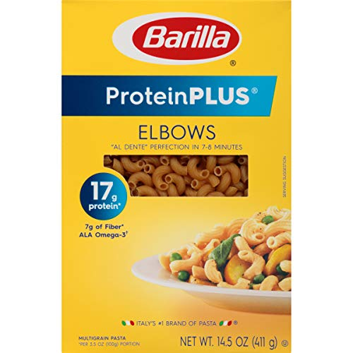 Barilla Protein Plus Elbows Pasta, 14.5 Ounce